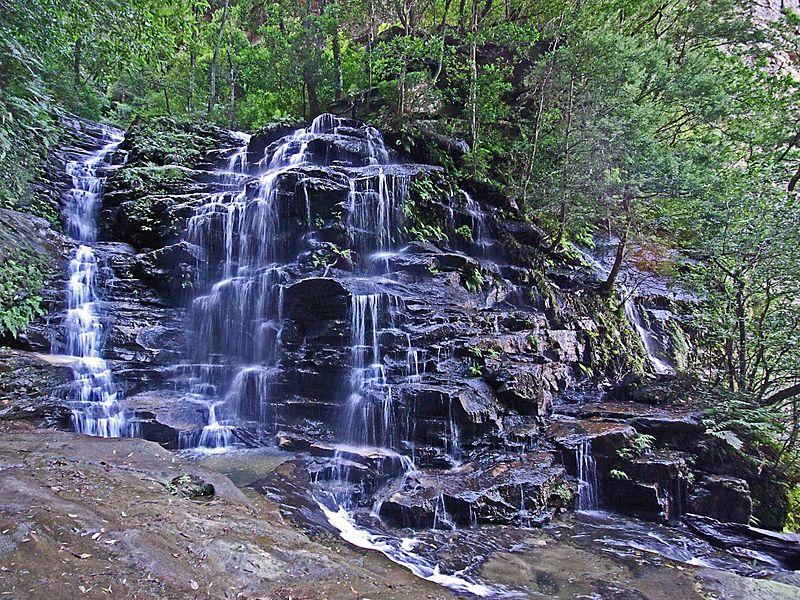 Sylvia Falls. Photo: HarryP. License: CC BY-SA 3.0