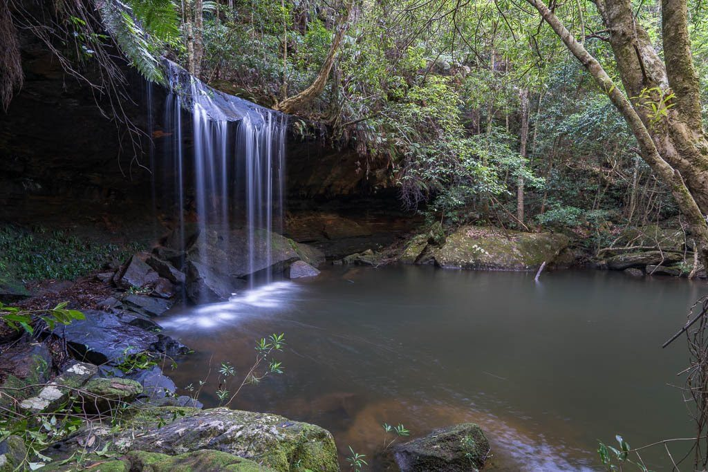 Martins Falls. Photo: Waterfalls of the Blue Mountains