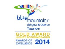 Blue Mountains accommodation award